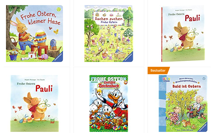 Frohe Ostern Bücher bei Amazon