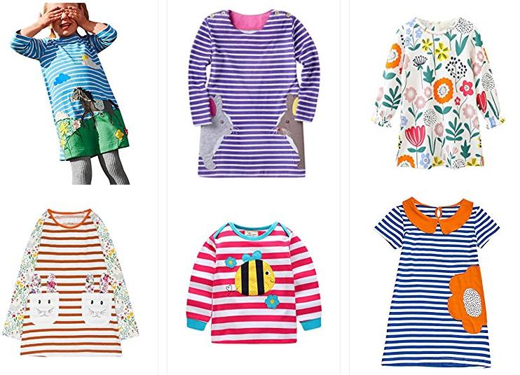 Jerfer Mädchen-Kleidung