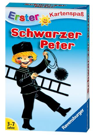 Kinderkartenspiel Schwarzer Peter billiger, reduzierter Füllartikel bei Amazon