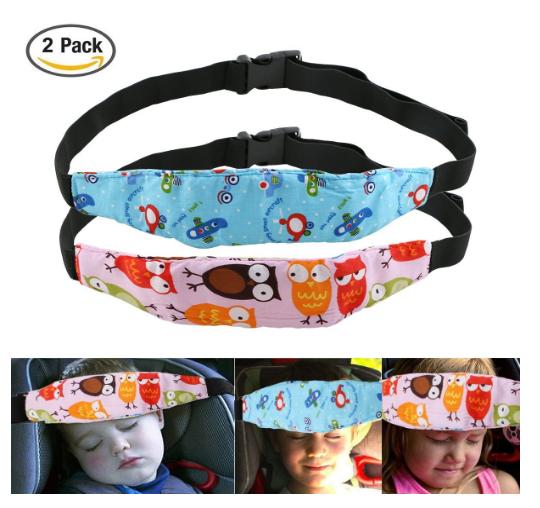 Kopf-Stabilisator für schlafende Kinder