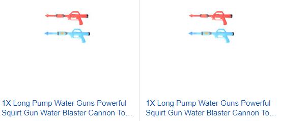 Long Pump Water Guns