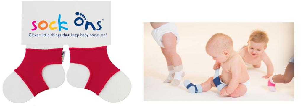 erster Blick viele möglichkeiten attraktive Mode Sockenhalter für Babys: Sock-Ons für Kinder von 0 bis 6 ...