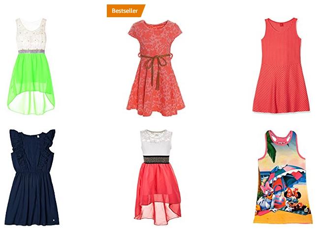 Sommerkleider für Mädchen bei Amazon