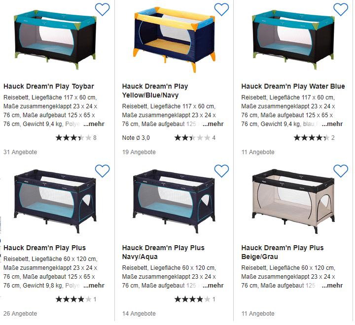 hauck reisebett dream n play 29 02 euro inklusive versand schn ppchen produktproben f r. Black Bedroom Furniture Sets. Home Design Ideas