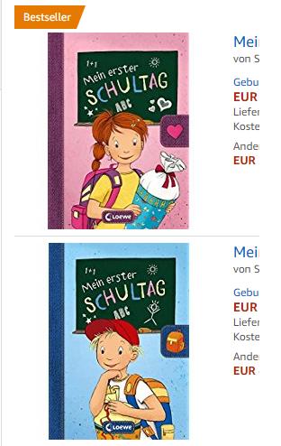 Einschulungsbücher