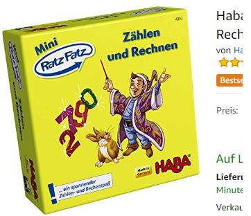 Mini Ratz Fatz - Zählen und Rechnen