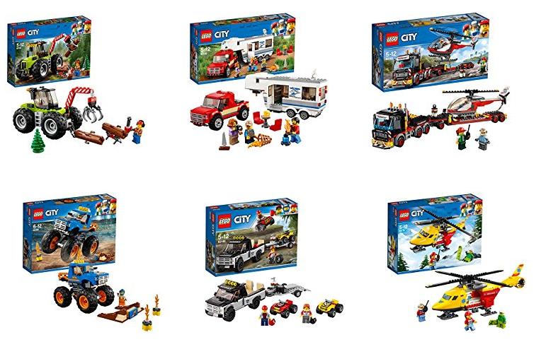 Starke Fahrzeuge von LEGO City