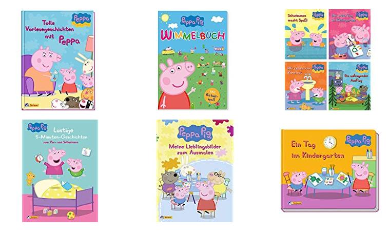 Bücher mit Peppa Wutz - Pig