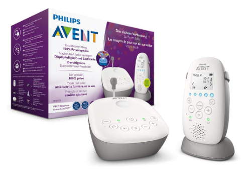 Philips Avent Audio-Babyphone SCD733 mit Sternenhimmel