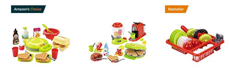 geniale Spielzeug-Sets für die Kinderküche von Ecoiffier