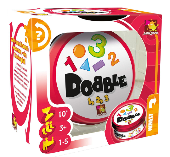 Dobble 123 für Kleinkinder