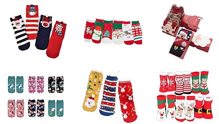 Kinder-Weihnachtssocken für Mädchen, Jungen und Babys