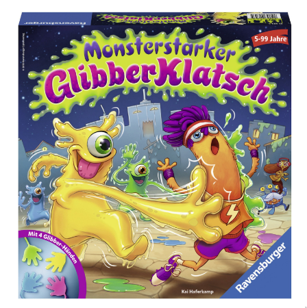 Ravensburger Kinderspiele 21353 Monsterstarker Glibberklatsch