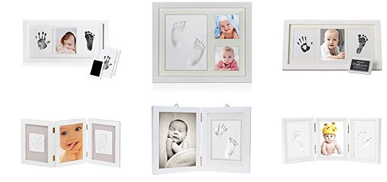 Baby Handabdruck Fußabdruck