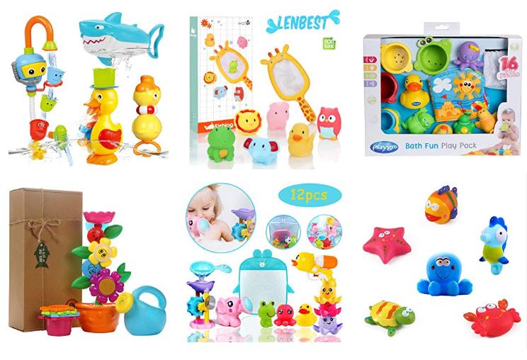 Badewannen-Spielzeug-Sets bei Amazon